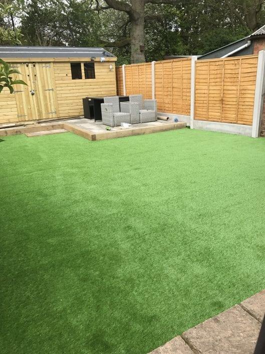 Large back garden in Shirley